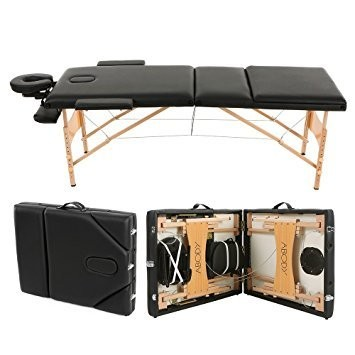 [generic] Top Portable Massage Bed Package (Black)