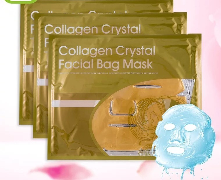 [generic] Gold Crystal Collagen Mask
