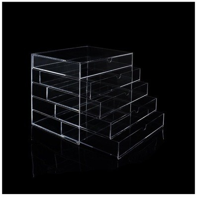 [Muji]  Clear Acrylic Organizer Case Container (5 Drawers)