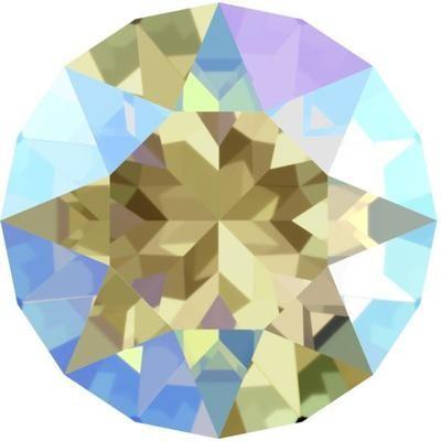 [SWAROVSKI] 1088 Xirius Chaton Black Diamond Shimmer (SS39) (6pcs)