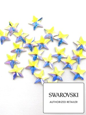 [SWAROVSKI] 2816 RIVOLI STAR FLAT BACK CRYSTAL (5MM)