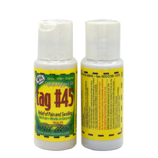 [generic] Tag #45 Topical Anesthetic Gel
