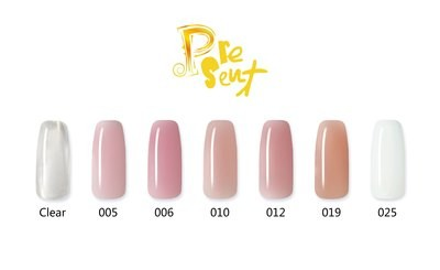 [Present] Polygel (Clear/Pink/White) (60g)