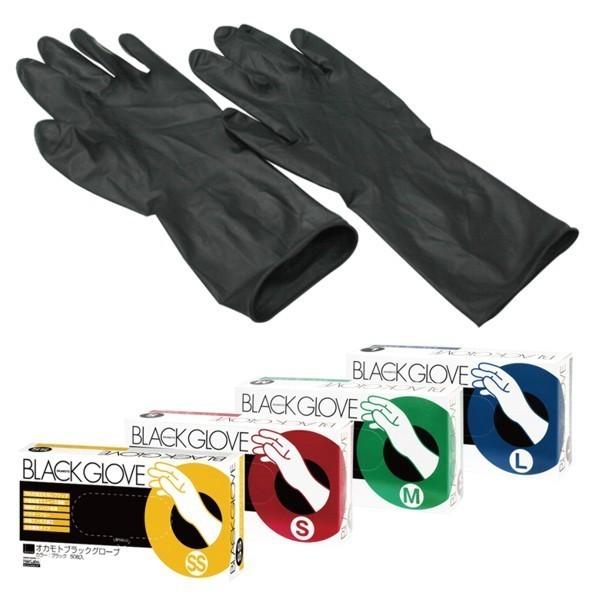 [Okamoto] Black Gloves (SS/S/M/L)