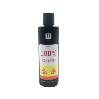 [generic] 100% Acetone (Nail Polish Remover) (280ml)