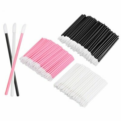 [generic] Disposable Lip Applicator (Pink/Black/White/Gold) (50pcs)