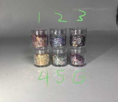 [generic] Jimmy Chu Style Glitter (6 Colours)