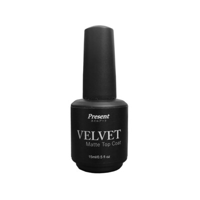 [Present] Velvet Matte Top Coat (15ml)