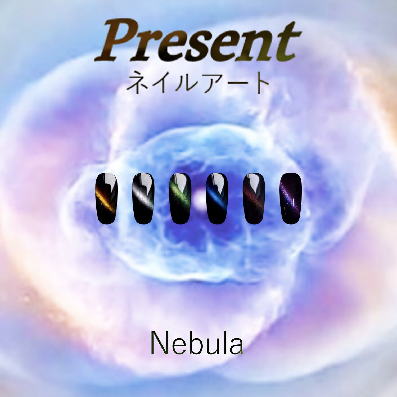 [Present] Gel Polish Nebula Cat Eye Collection (6 colours)