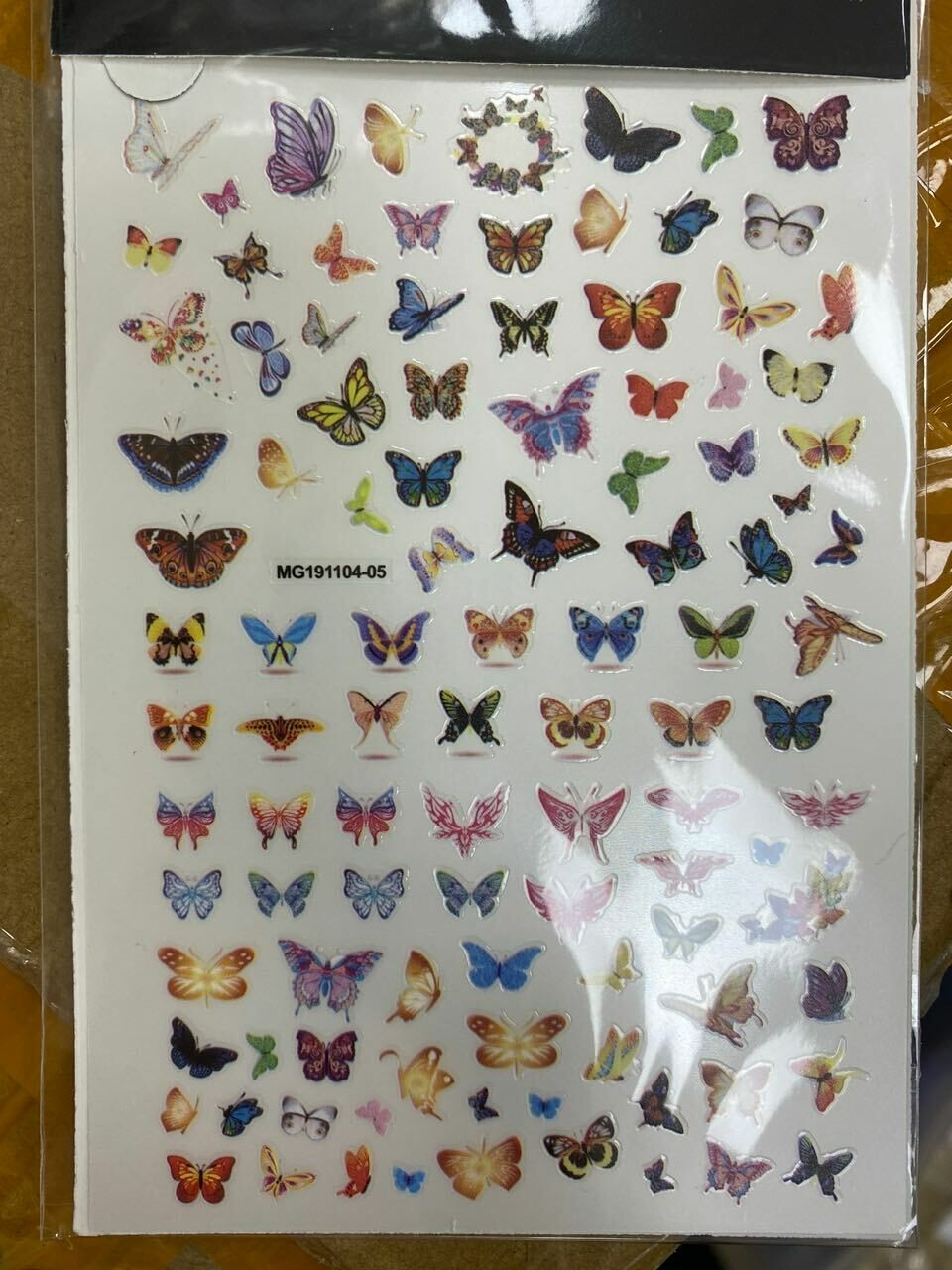 [generic] Nail Art Stickers (butterfly) (2 styles)
