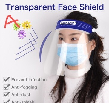 pre-order [generic] Transparent Face Shield
