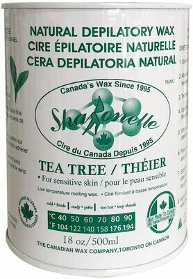 [Sharonelle] Soft Wax tea tree for sensitive skin