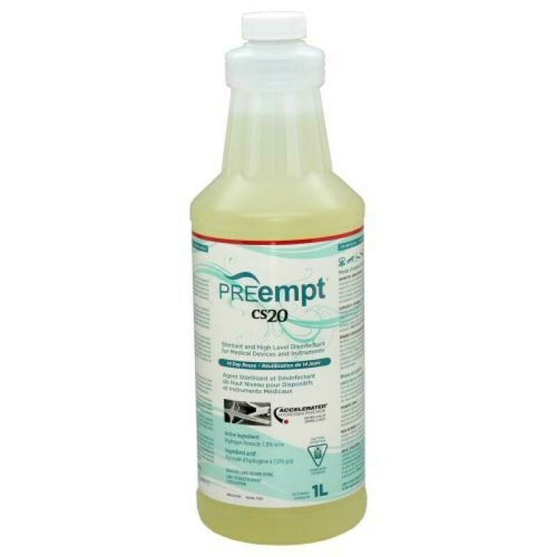 [PREempt] (Accel) CS20 Sterilant & High Level Disinfectant (1L)