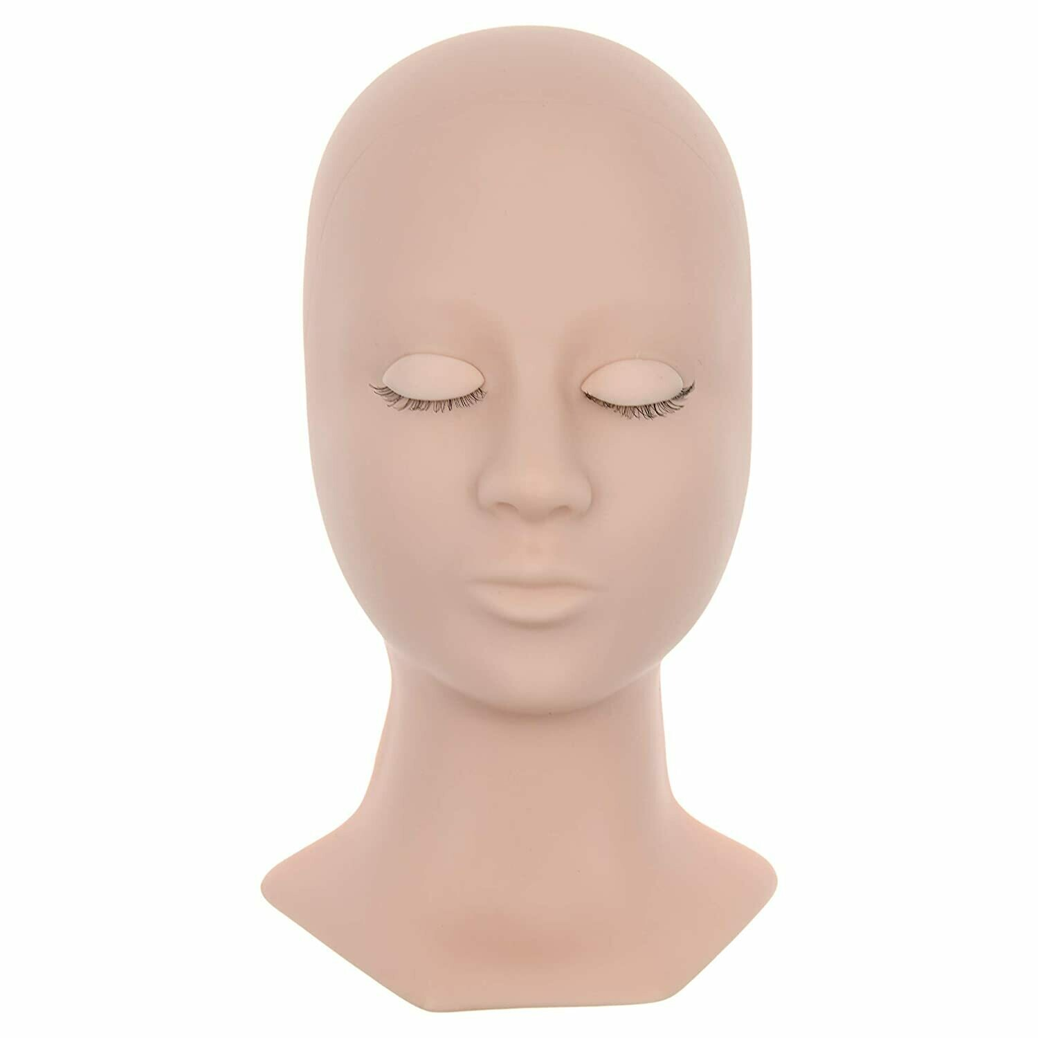 [BNP] mannequin head for eyelash extensions with 3 pair removable eye lids