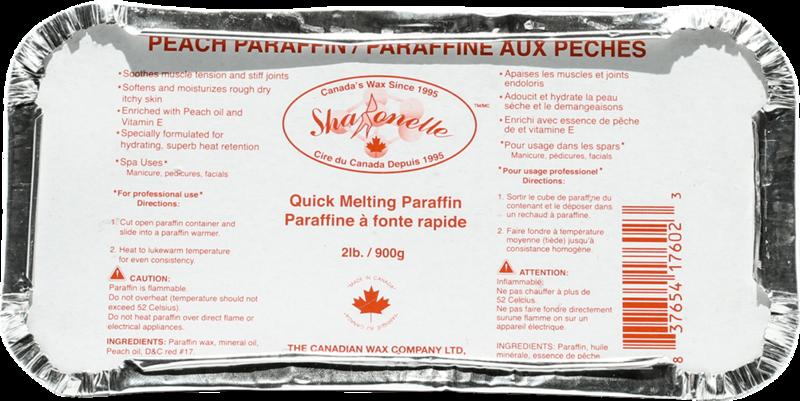 [Sharonelle] Paraffin wax (peach)