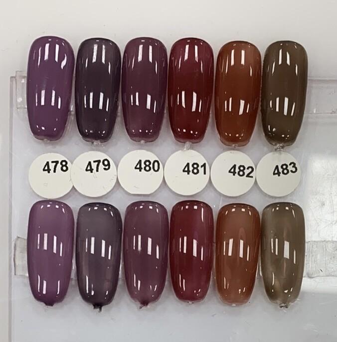 [Present] Gel Polish violet deep Collection(#478~#483) Gel Polish (Made in Japan)