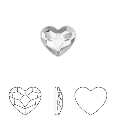 [Swarovski] Flat Back Crystal 2808 (MM3.6) (6 pieces/pack) (1 colour)
