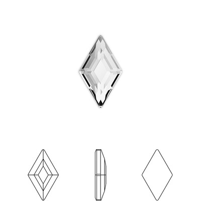 [Swarovski] Flat Back Crystal 2773 (MM5X3) (6 pieces/pack) (2 colours)