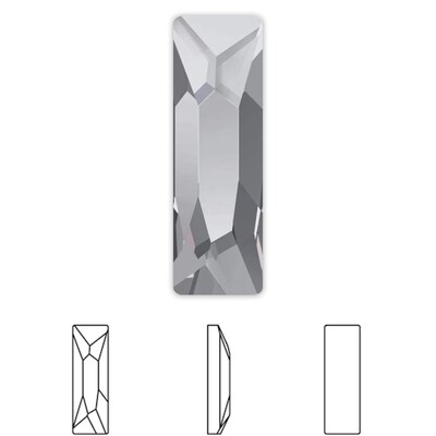 [Swarovski] Flat Back Crystal 2555 (MM12X4) (6 pieces/pack) (1 colour)