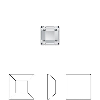 [Swarovski] Flat Back Crystal 2400 (MM2.2) (6 pieces/pack) (1 colour)