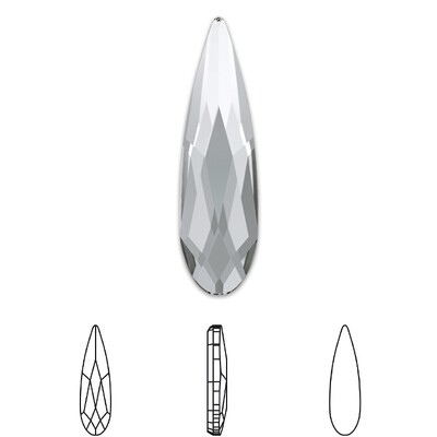 [Swarovski] Flat Back Crystal 2304 (MM14X3.9) (6 pieces/pack) (1 colour)