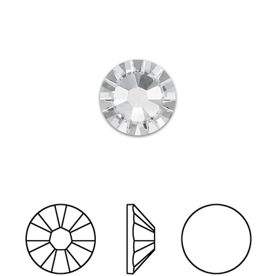 [Swarovski] Flat Back Crystal 2058 (SS10) (72 pieces/pack) (2 colours)