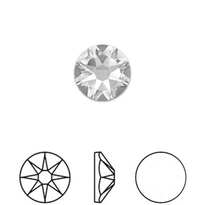 [Swarovski] Flat Back Crystal 2088 (SS12) (18 pieces/pack) (3 colours)