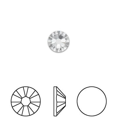 [Swarovski] Flat Back Crystal 2058 (SS7) (72 pieces/pack) (2 colours)