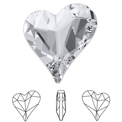 [Swarovski] Point Back Crystal 4809 (MM13X12) (6 pieces/pack) (2 colours)