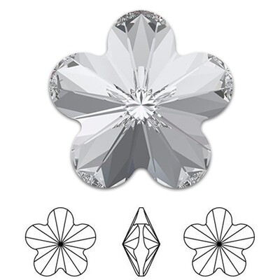 [Swarovski] Point Back Crystal 4744 (MM10) (6 pieces/pack) (1 colour)