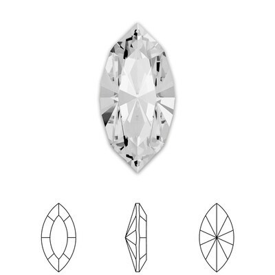 [Swarovski] Point Back Crystal 4228 (MM8X4) (6 pieces/pack) (1 colour)