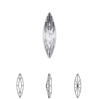 [Swarovski] Point Back Crystal 4200 (MM6X3) (6 pieces/pack) (1 colour)