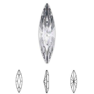 [Swarovski] Point Back Crystal 4200 (MM11X3) (6 pieces/pack) (1 colour)