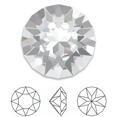 [Swarovski] Point Back Crystal 1088 (SS45) (6 pieces/pack) (1 colour)