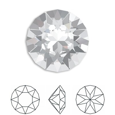 [Swarovski] Point Back Crystal 1088 (SS39) (6 pieces/pack) (8 colours)