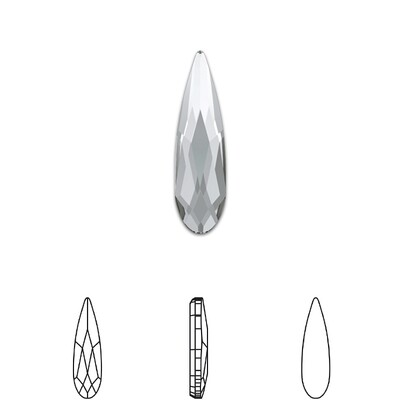 [Swarovski] Flat Back Crystal 2304 (MM6X1.7) (6 pieces/pack) (5 colours)