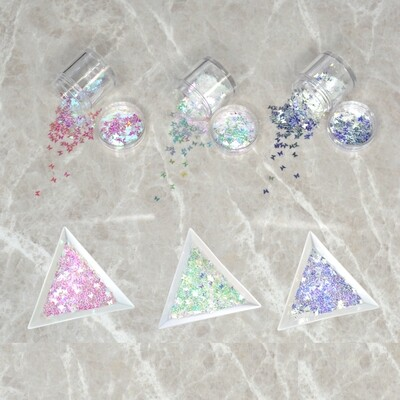 [generic] Holographic Butterfly Glitter (4 colours)