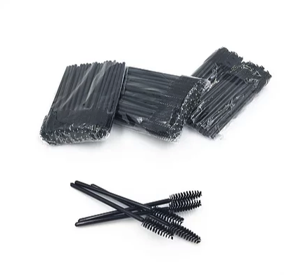 [generic] Disposable Mascara Wands (Black) (50pcs)