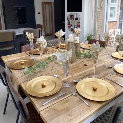 1.6m Square Prosecco Dining Table