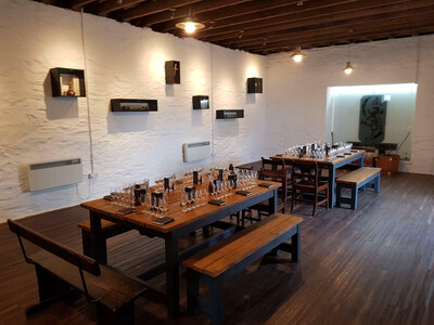 Rustic Refectory Table & 4 Benches