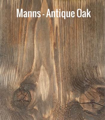 MANNS Antique Oak - Sample