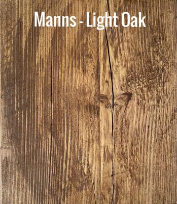 MANNS Light oak - Sample