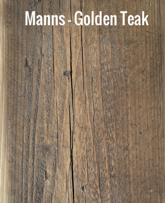 MANNS Golden Teak - Sample