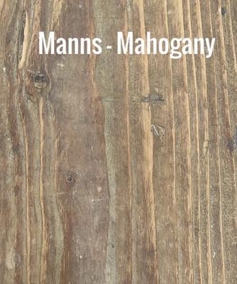MANNS Mahogany - Sample