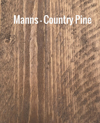 MANNS Country Pine - Sample