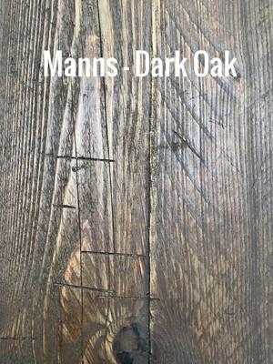 MANNS Dark Oak - Sample