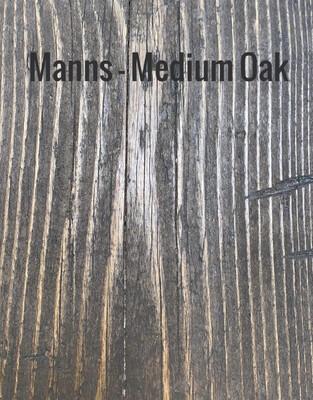 MANNS Medium Oak - Sample