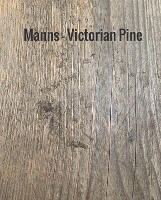 MANNS Victorian Pine - Sample