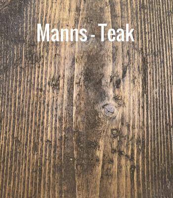 MANNS Teak - Sample