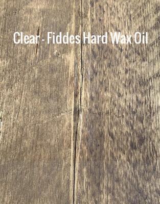 Clear (Fiddes Hard Wax Oil) - Sample